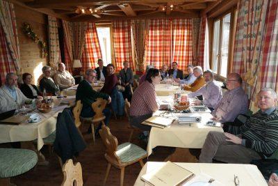 Die Klausurtagung der FDP-Kreisverbände Ebersberg und Erding gibt am 4.2.2017 von 10 bis 14 Uhr und war für alle Beteiligten sehr konstruktiv. (Foto: Peter Pernsteiner)