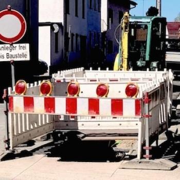 Bild: Noch ist unklar, woher die Energie kommen soll, für die hier Rohre verlegt werden...