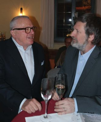 Thomas Sattelberger (links) ist Bundestags-Direktkandidat für die FDP im Wahlkreis München-Süd und Peter Pernsteiner (rechts) ist Bundestags-Direktkandidat für die FDP im Wahlkreis Ebersberg-Erding (Foto: Rob Harrison)