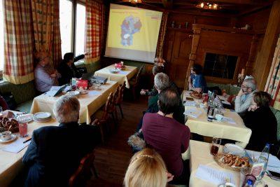 Am 4.2.2017 trafen sich 20 Mitglieder der FDP-Kreisverbände Ebersberg und Erding zu ihrer ersten Klausurtagung für die Bundestagswahl im Herbst ... (Foto: Peter Pernsteiner)