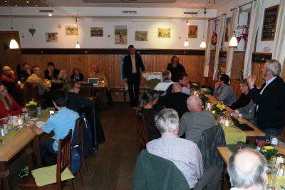 Am 20. März waren mehr als 50 Zuhörer bei der Veranstaltung des FDP-Kreisverbandes Ebersberg im Reitsberger Hof in Vaterstetten