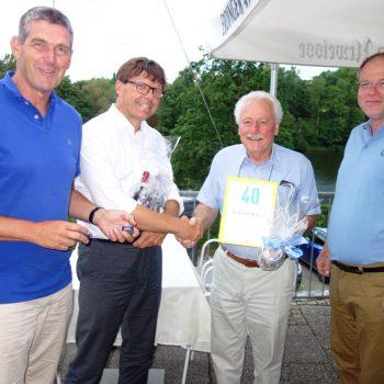 v.l.n.r.: Alexander Müller, Volker Wagner-Solbach, Gisbert Wolfram, Bernhard Spötzl