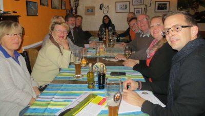 Am 21. Februar wurde auf dem Zornedinger FDP-Stammtisch sehr viel über Bahnlärm entlang der Strecke Vaterstetten-Zorneding-Grafing diskutiert.