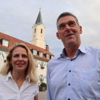 Julika Sandt und Alexander Müller in Glonn