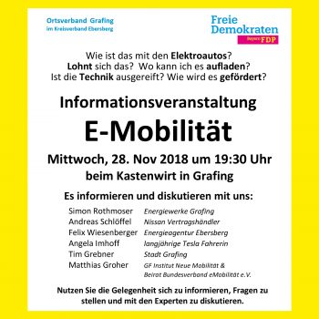 FDP Grafing 20181128 E-Mob Square